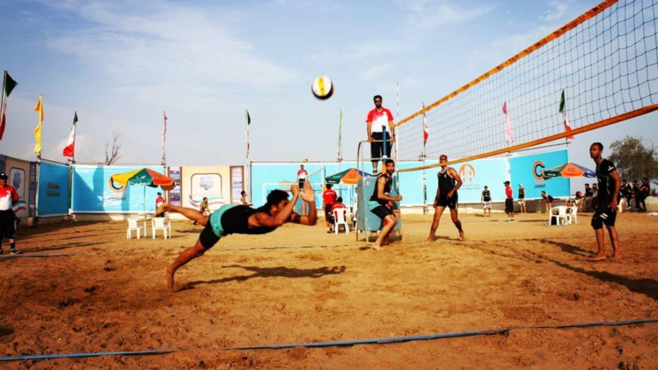 تیم والیبال ساحلی سیمان هرمزگان